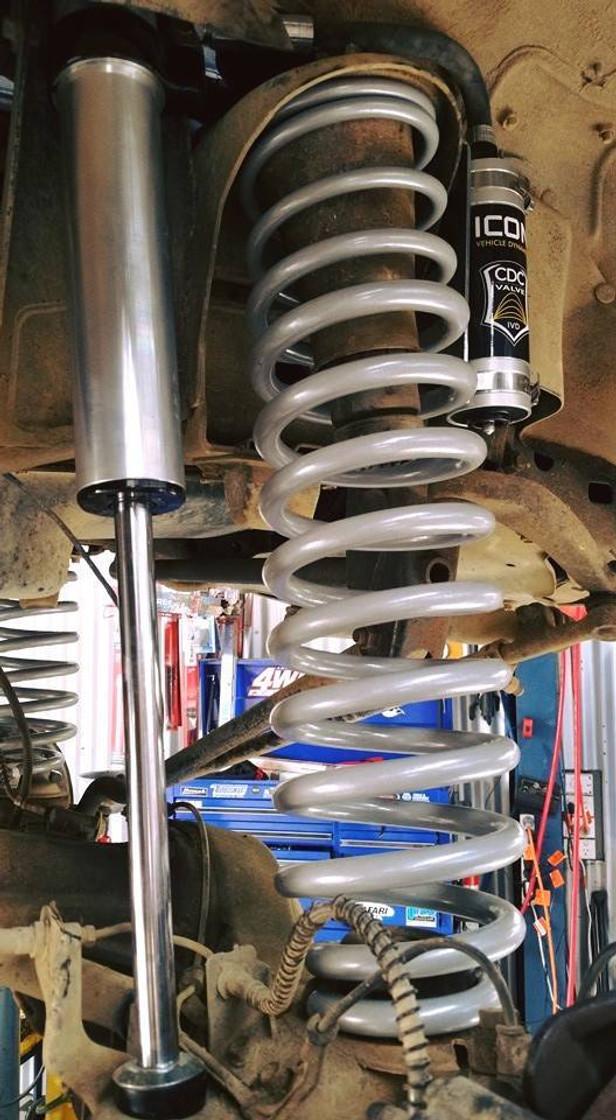 Toyota 70 series #slinkylongtravel  front coils.