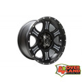 "17"" Shield Wheels Black & Machined Finish Toyota"