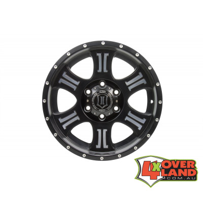 "17"" Shield Wheels Black & Machined Finish"