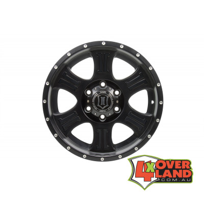 "20"" Shield Wheels Satin Black Finish for Toyota"