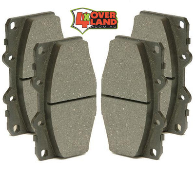 BP70001 Toyota 100 Series Land Cruiser Auto-Craft Performance Brake Pads Front[PR]