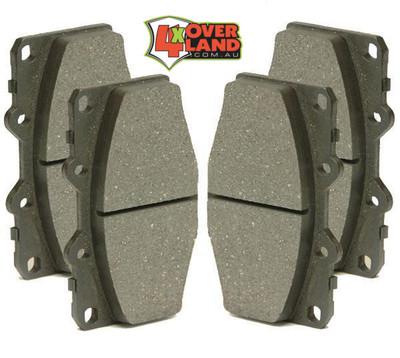 BP70502 Toyota 150 Series Land Cruiser Auto-Craft Performance Brake Pads Rear[PR]