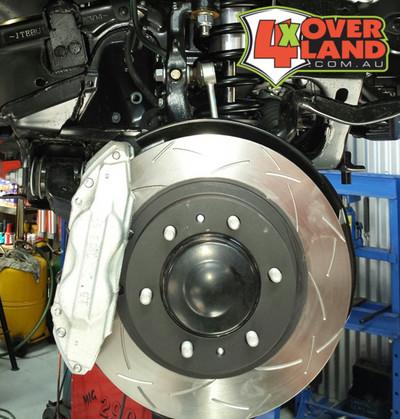 BK70802 Toyota 80 Series TD and Petrol Auto-Craft High Performance Brake Kit