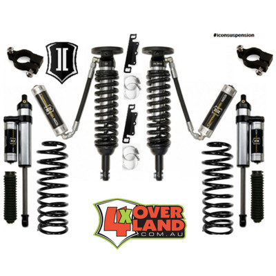 Toyota FJ Cruiser 010 on Icon Stage 3 Intermediate levelling kit