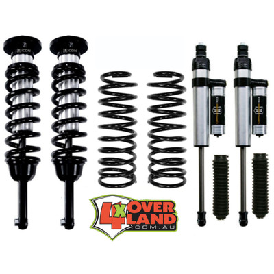 Toyota FJ Cruiser on Icon Stage 2 Intermediate Levelling Kit