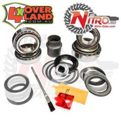 Master Install Kit, Toyota Land Cruiser 80 Series front with OEM E-locker