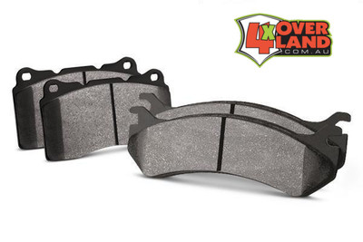 Toyota 200 Series TTD and V8 Auto-Craft High-performance Brake Pads Rear.