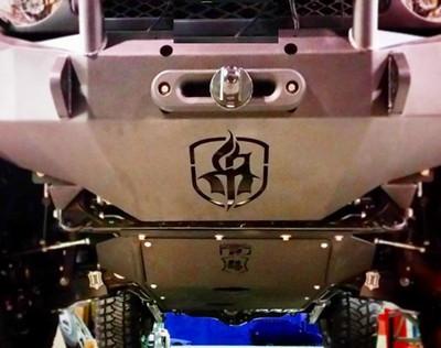 Toyota FJ Cruiser 010 Protector-plate