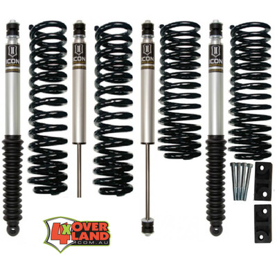 Toyota 105 series (100 Live Axle) TD and petrol Icon Stage 1 Intermediate-Levelling kit.