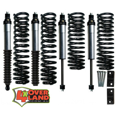Toyota 105 series (100 Live Axle) TD and petrol Icon Stage 2 Intermediate-Levelling kit