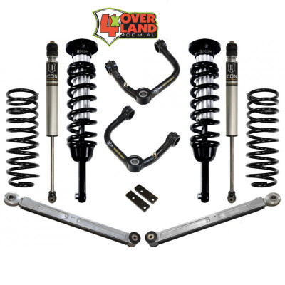 Toyota 120 Series on Icon Kit Stage 3 intermediate levelling 0-20mm lift.