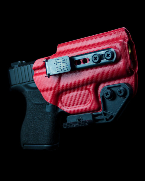 Glock 43 Beltless inside the waistband holster with ULTICLIP