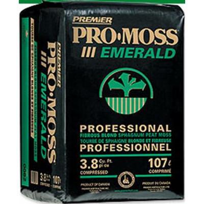 PRO-MOSS Peat Moss, EMERALD