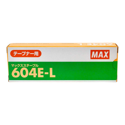 604E-L Max Staples for HTB-2 Tapener, 4800/Pack