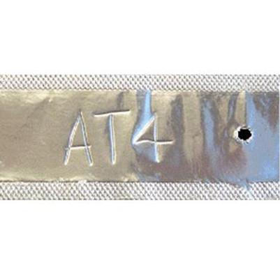"""4 x 1-3/4"""" Aluminum Tags"""