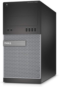 Dell 7020 TOWER PC Intel Processor i5 4th GENERATION 3.3 ghz, 8GB RAM, 1T HARD DRIVE, WINDOWS 10 PRO GRADE C REFURBISHED