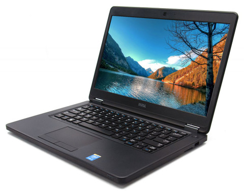 Dell Latitude E5450 Touch Screen Laptop,  Intel Core i5-5300U  2.3GHz- 5th Gen, 8GB RAM, 128SSD, Win10, Web Cam, Grade B, Refurbished. 30 Day Limited Warranty