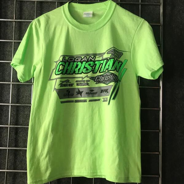 Youth Logan T-Shirt - Green