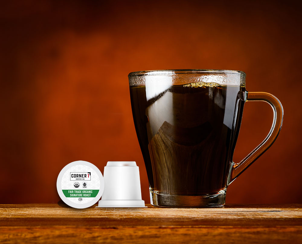 Fair Trade Organic Signature Roast Single Serve Coffee - 100 ct