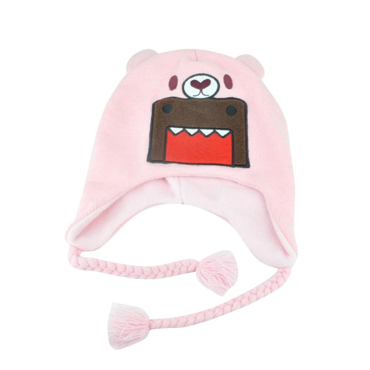f7f4becb7bc Domo Kun Pink Bear Japanese Character Women Ladies Peruvian Knit Beanie  Warm Hat - Cap Store Online.com