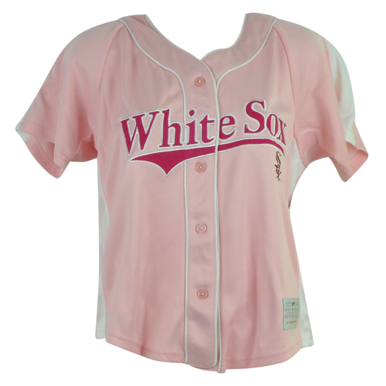 e123a4a6 MLB Chicago White Sox Adrian Womens Jersey ladies Button Up Pink Baseball  Sport