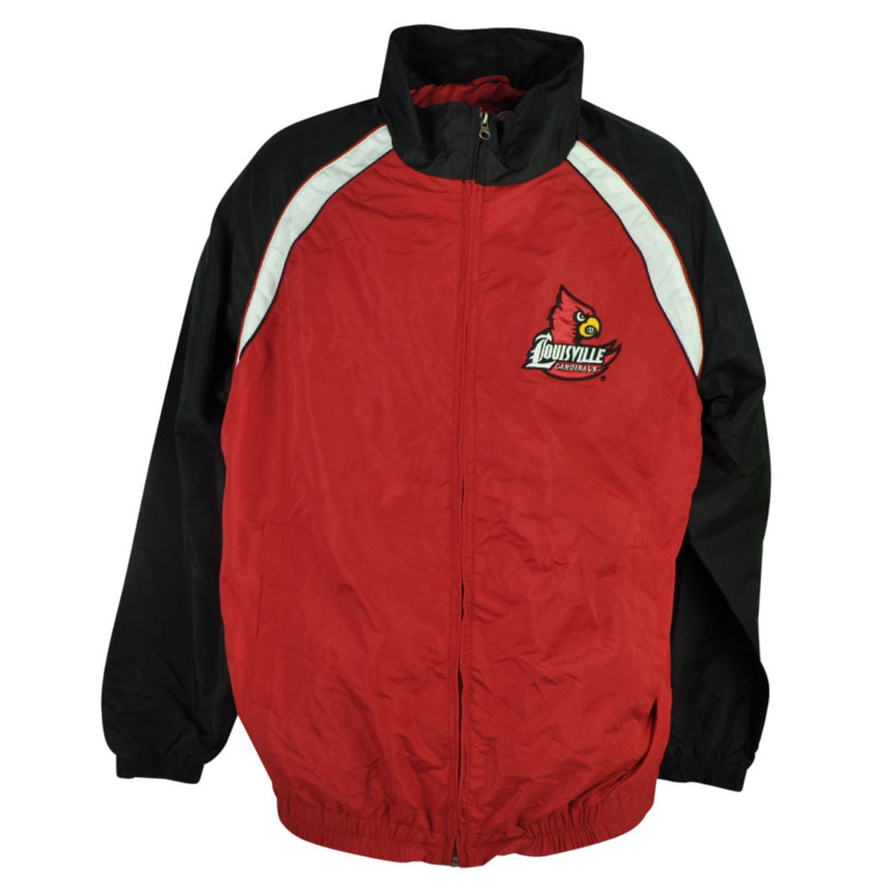 buy online 262f1 ed7a2 NCAA Louisville Cardinals Cards Clawson Jacket Mens Zipper Sweater Red  Winter