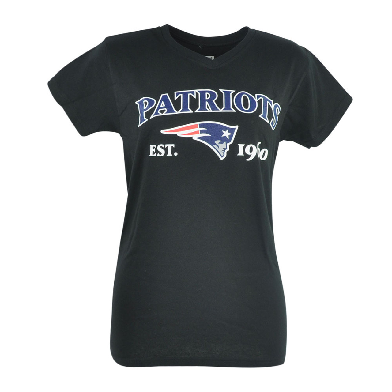 b105246b NFL New England Patriots Commissioner Women Ladies Football Tshirt Tee