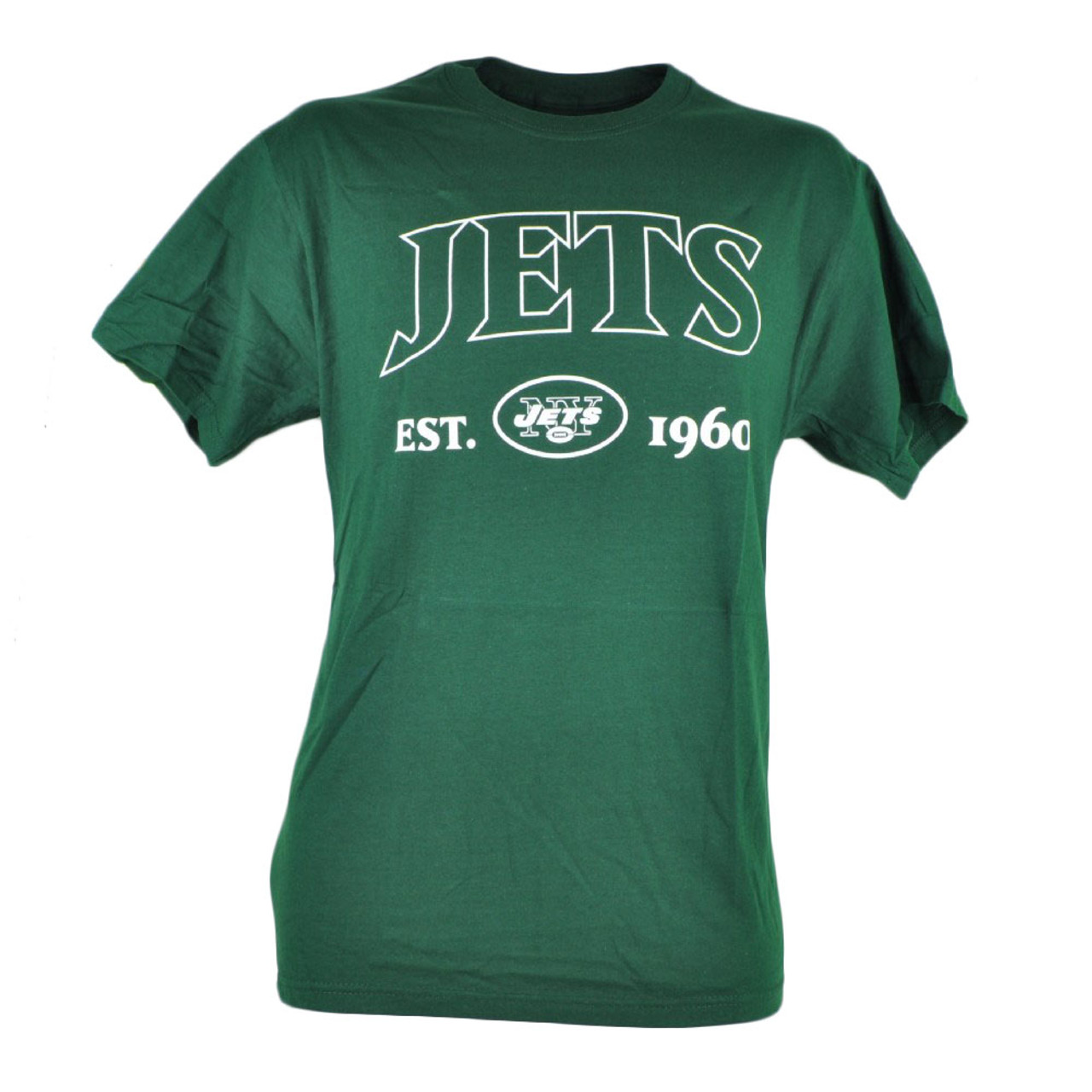 sports shoes 279d6 2aba0 NFL New York NY Jets Commissioner EST 1960 Football Mens Tshirt Tee Green