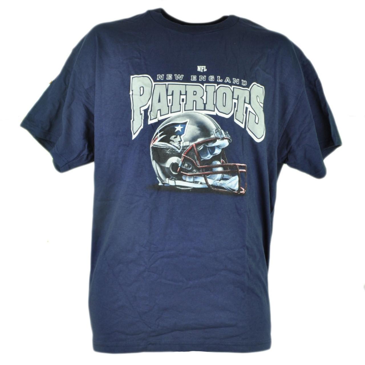 bfe54f5e9 NFL New England Patriots Tshirt Cup 2 Set Navy Blue Shirt Tee Mug Short  Sleeve