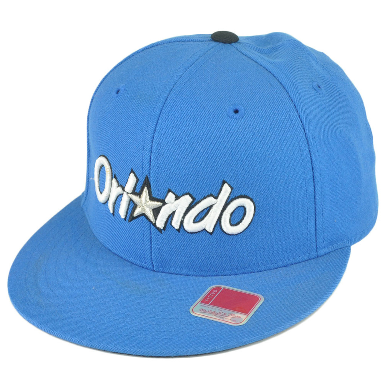sports shoes eec2f 345d5 NBA Mitchell Ness TK40 Orlando Magic Blue Alternate Fitted Hat Cap