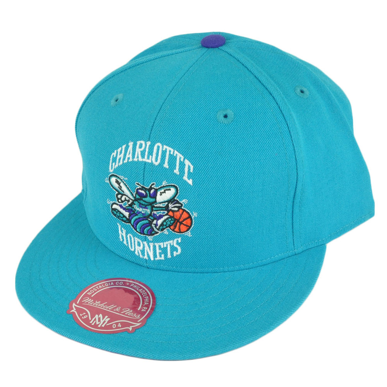 the latest 04ab3 14a6e NBA Mitchell Ness TK07 Charlotte Hornets Team Second Fitted Hat Cap - Cap  Store Online.com