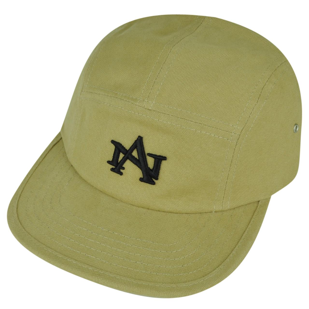 00f5dcdc American Needle Logo Clip Buckle Hat Cap Khaki Relaxed Brand Flat Bill  Adjustable - Cap Store Online.com