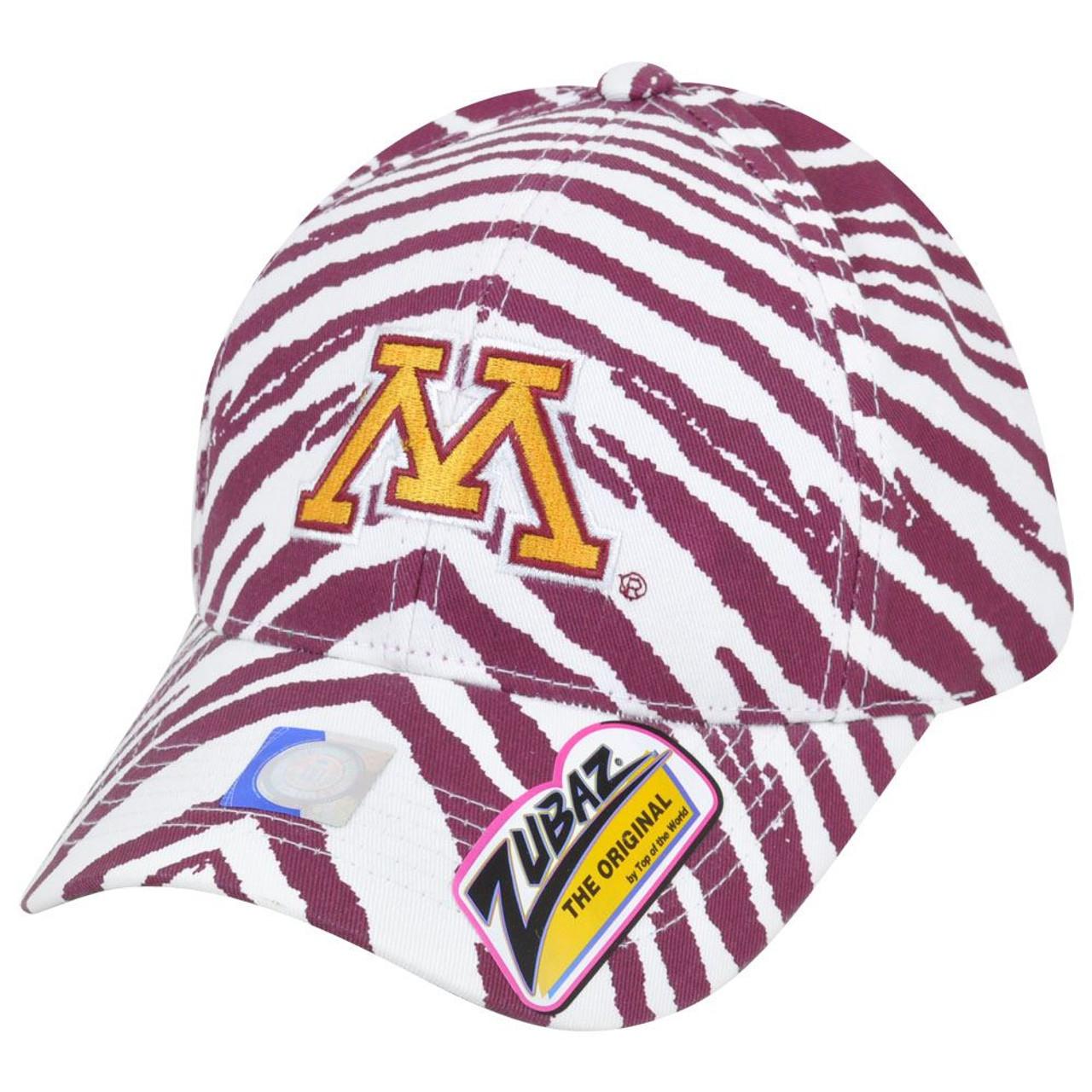 watch c8a7b a6ac3 NCAA Minnesota Golden Gophers Top of the World Smash Zubaz Snapback Hat Cap  - Cap Store Online.com