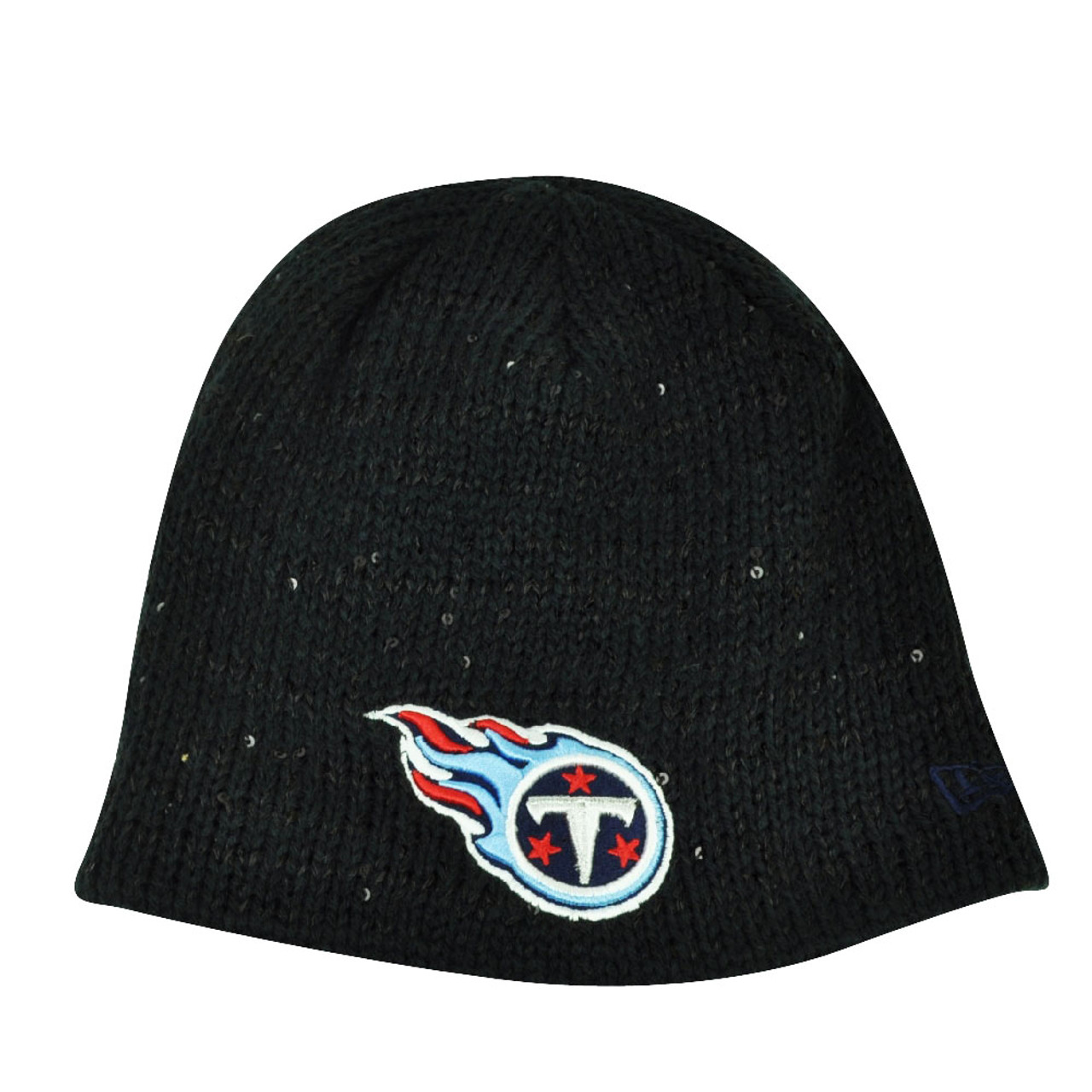 NFL New Era The Glistener Tennessee Titans Sequins Cuffless Womens