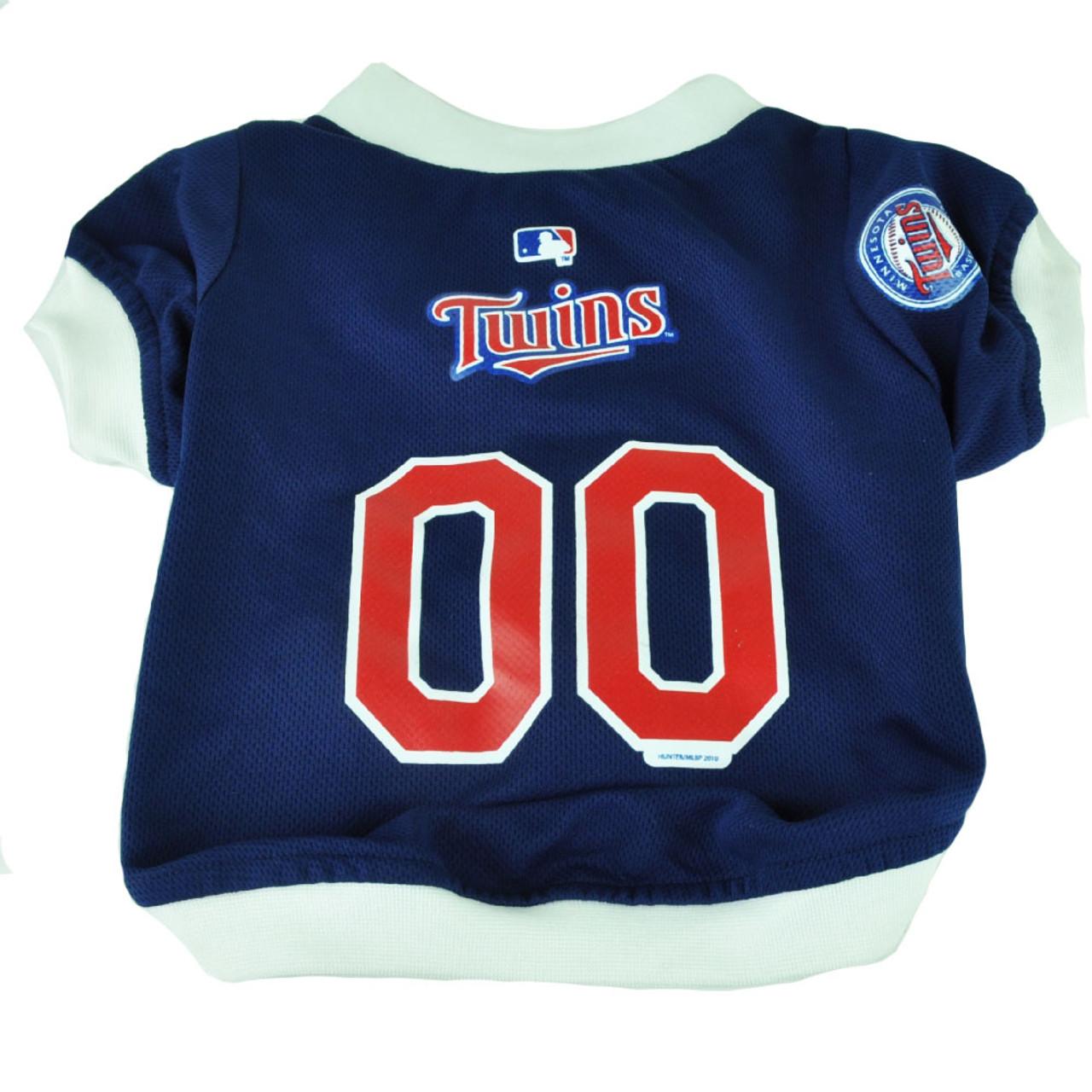 save off 674be d69fe MLB Minnesota Twins Pet Gear Small Shirt Dog Puppy Apparel Blue Hunter Fan  Small