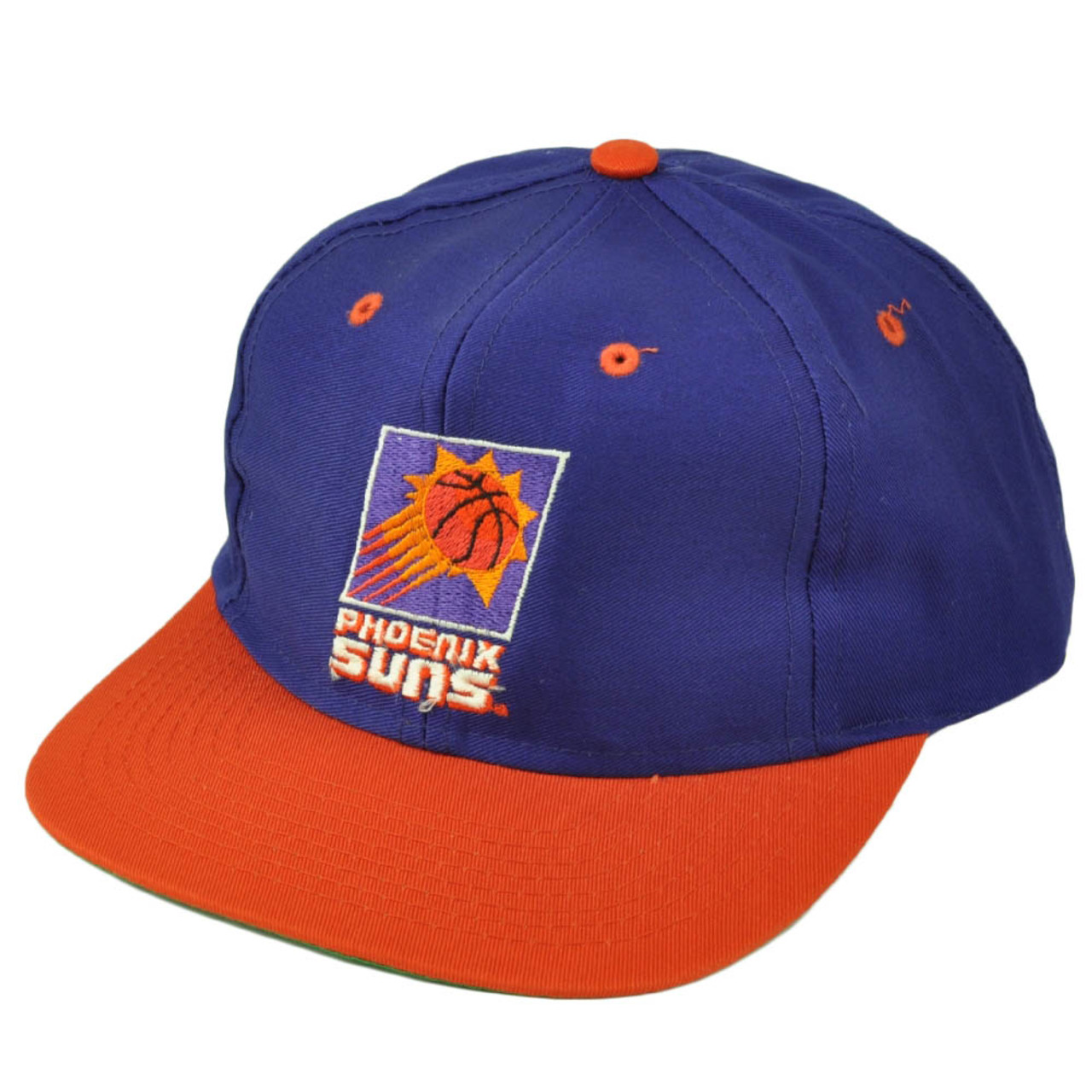 newest collection 6349c 10825 Phoenix Suns Dead Stock Vintage Snapback Hat Cap Old School Purple  Basketball
