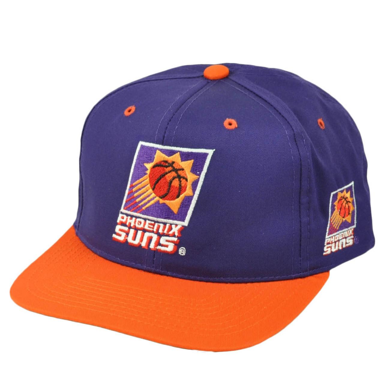 8bd8fe22be8 Phoenix Suns Mens Vintage Old School Hat Cap Purple Orange Snapback  Basketball - Cap Store Online.com