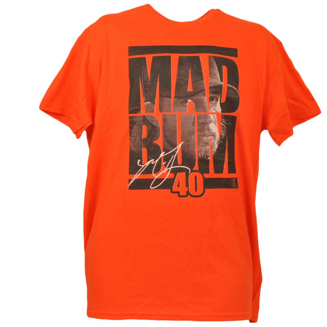 best service 54034 4db3e San Francisco Giants Mad Bum 40 Madison Bumgarner Orange Tshirt Tee Large  Mens