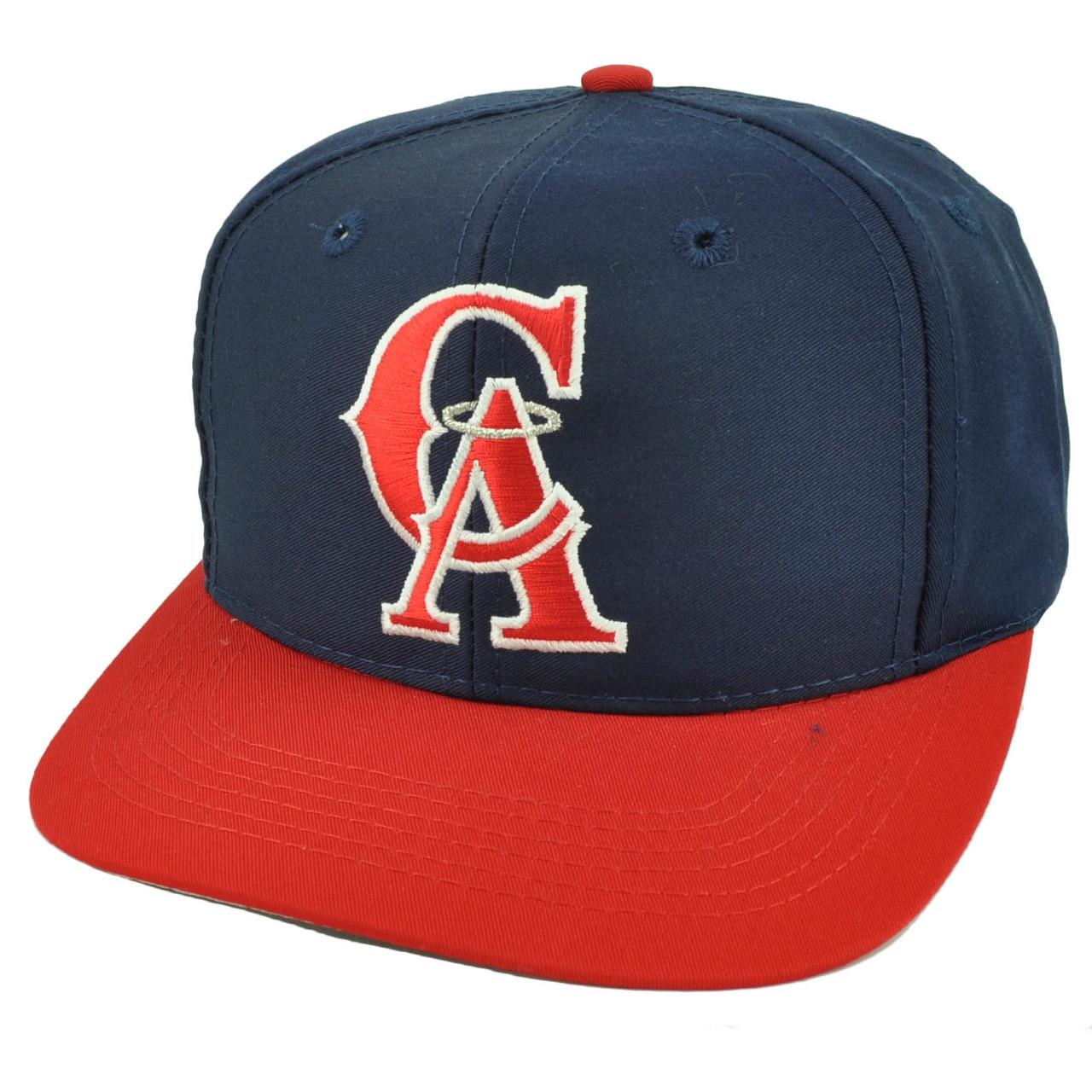 ff6155bcd93054 Los Angeles Angels Old School Logo Snapback Flat Bill Baseball Hat Cap  Youth - Cap Store Online.com