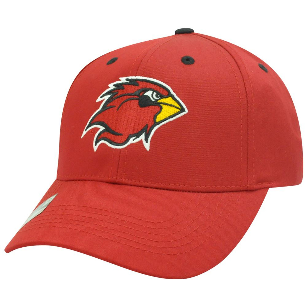 the best attitude 82f86 56a1a NCAA Louisville Cardinals Cards Twill Cotton Adjustable Velcro Plain Red Hat  Cap - Cap Store Online.com