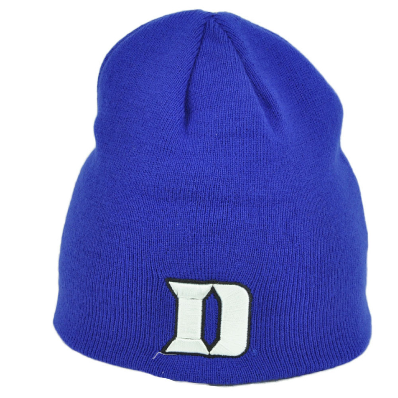 promo code 97d1a 8e1a3 NCAA Zephyr Duke Blue Devils Cuffless Knit Beanie Hat Skully Sports Winter
