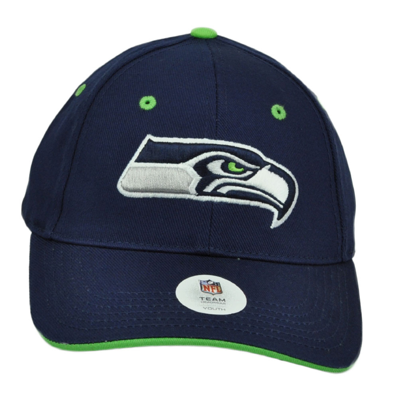 Navy Blue Hat Cap Curved Bill