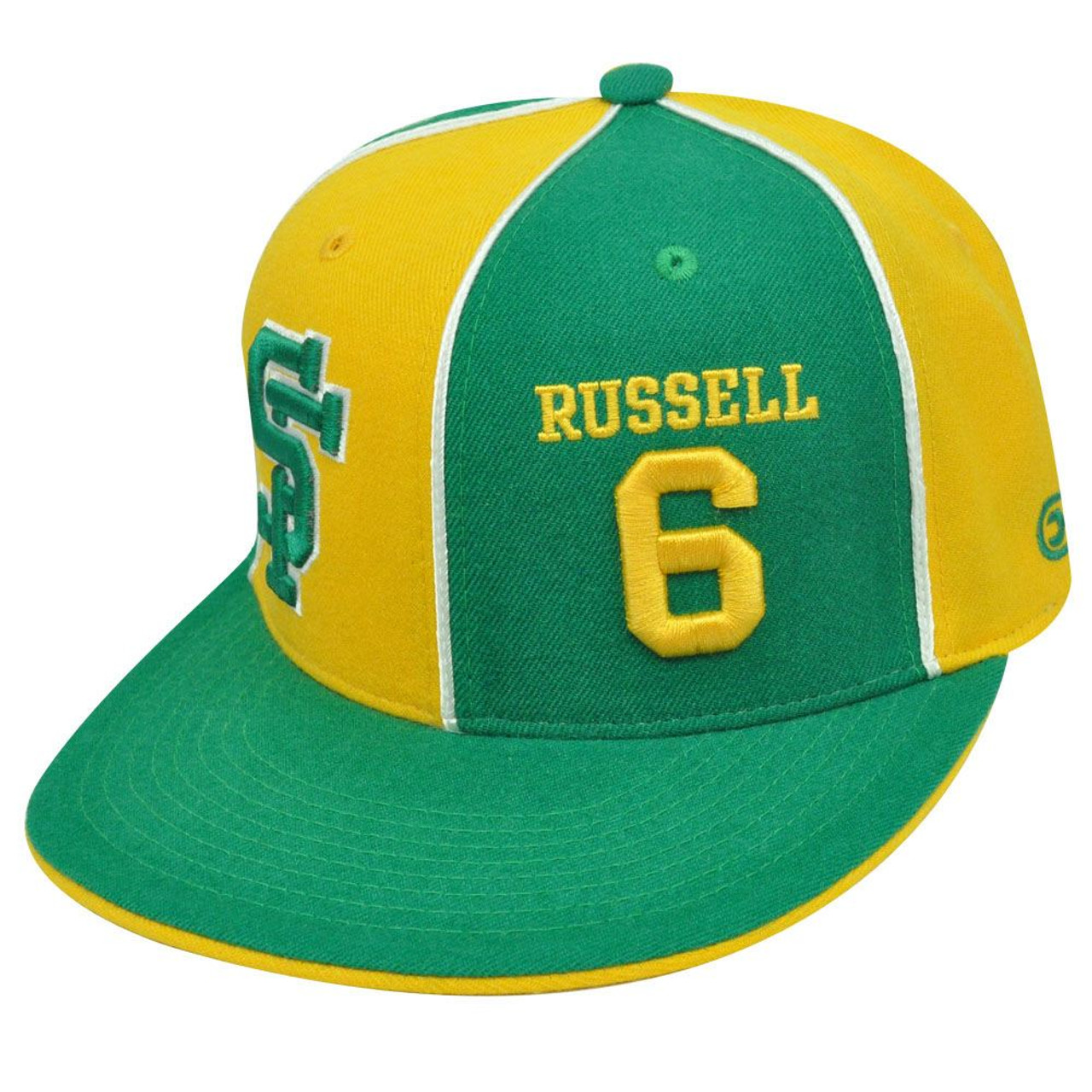 info for 78a6c 033e6 SAN FRANCISCO DONS #6 BILL RUSSELL FITTED 7 1/8 HAT CAP