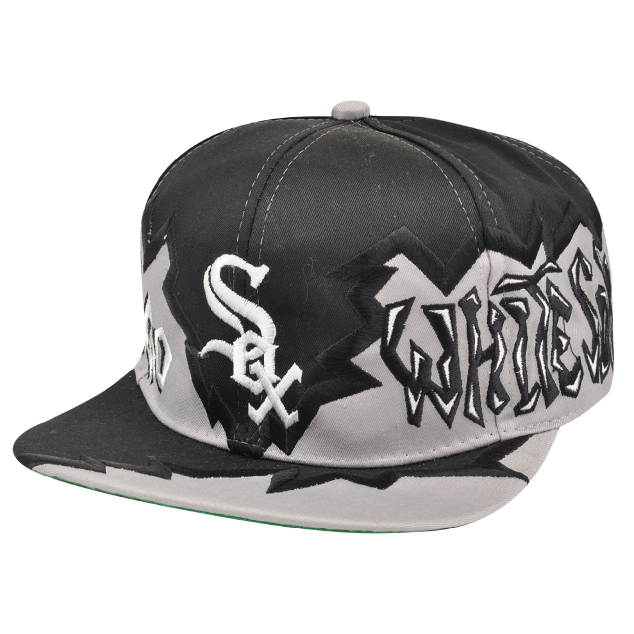 5434f109086 MLB Chicago White Sox Vintage Old School Snapback Flat Bill Hat Cap Dead  Stock - Cap Store Online.com