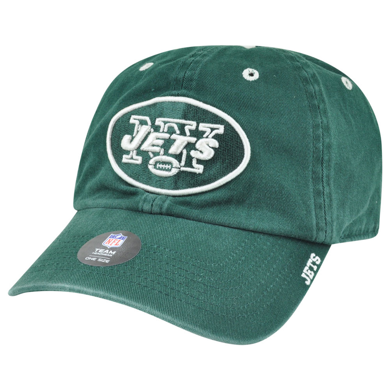 new product 7e175 052ad  47 Brand NFL New York Jets AFC Garment Washed Adjustable Snap Buckle Hat  Cap - Cap Store Online.com