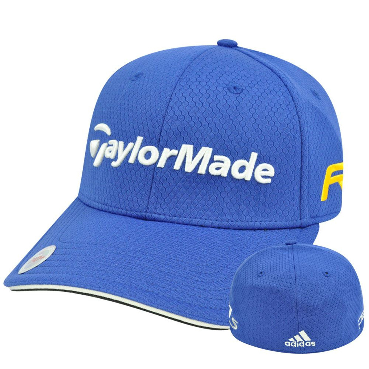 00fdd26e9be9d Adidas Ashworth Golf Hat Cap Penta Taylor Made R11 Blue Stretch Flex Fit  L XL - Cap Store Online.com