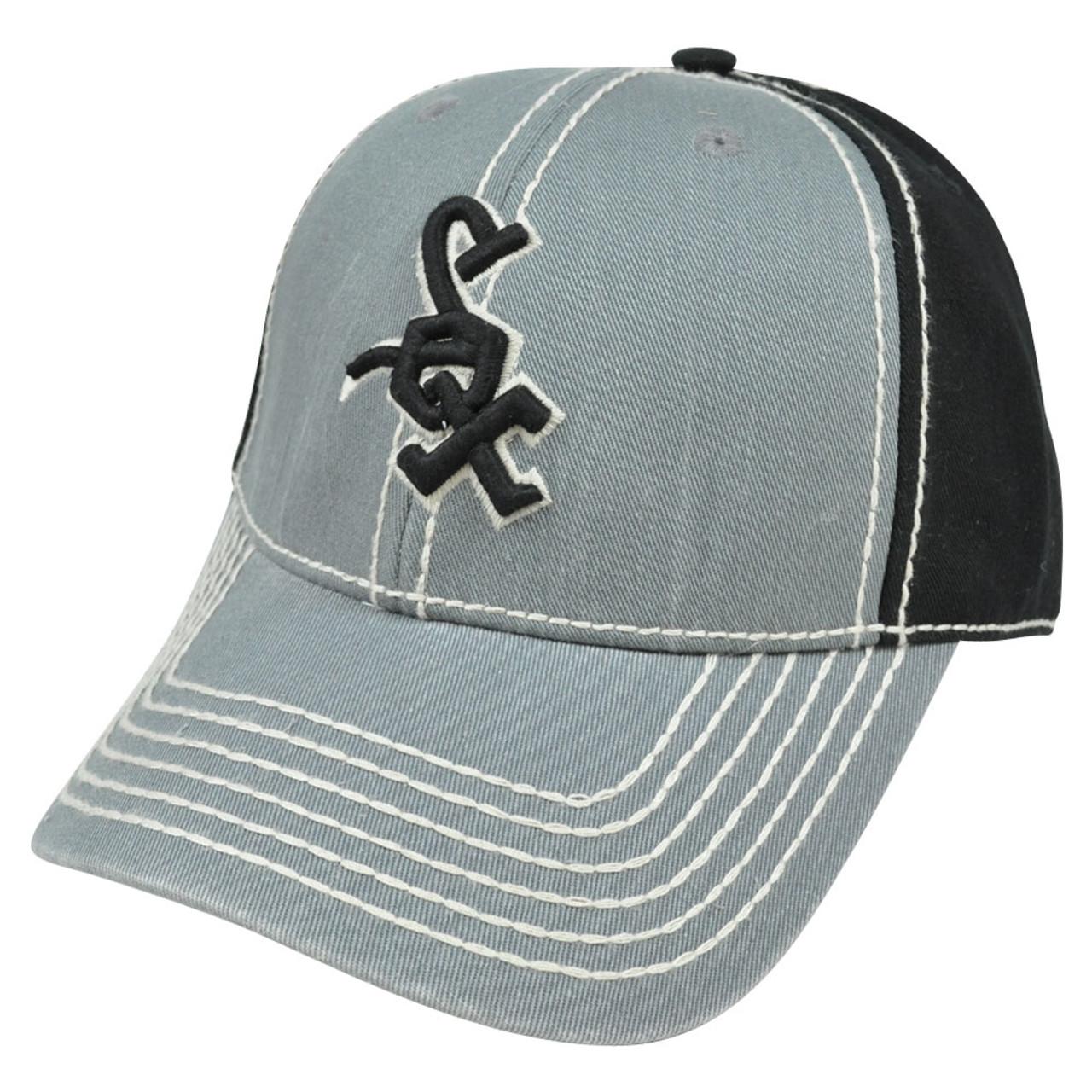 1cd537763e050b MLB Chicago White Sox Pro Stitch American Needle Vintage Washed Cotton Hat  Cap - Cap Store Online.com