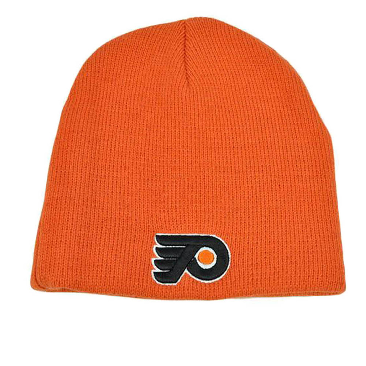0a6b663a7 NHL LNH Zephyr Thick Orange Knit Toque Nordic Beanie Cap Hat Philadelphia  Flyers