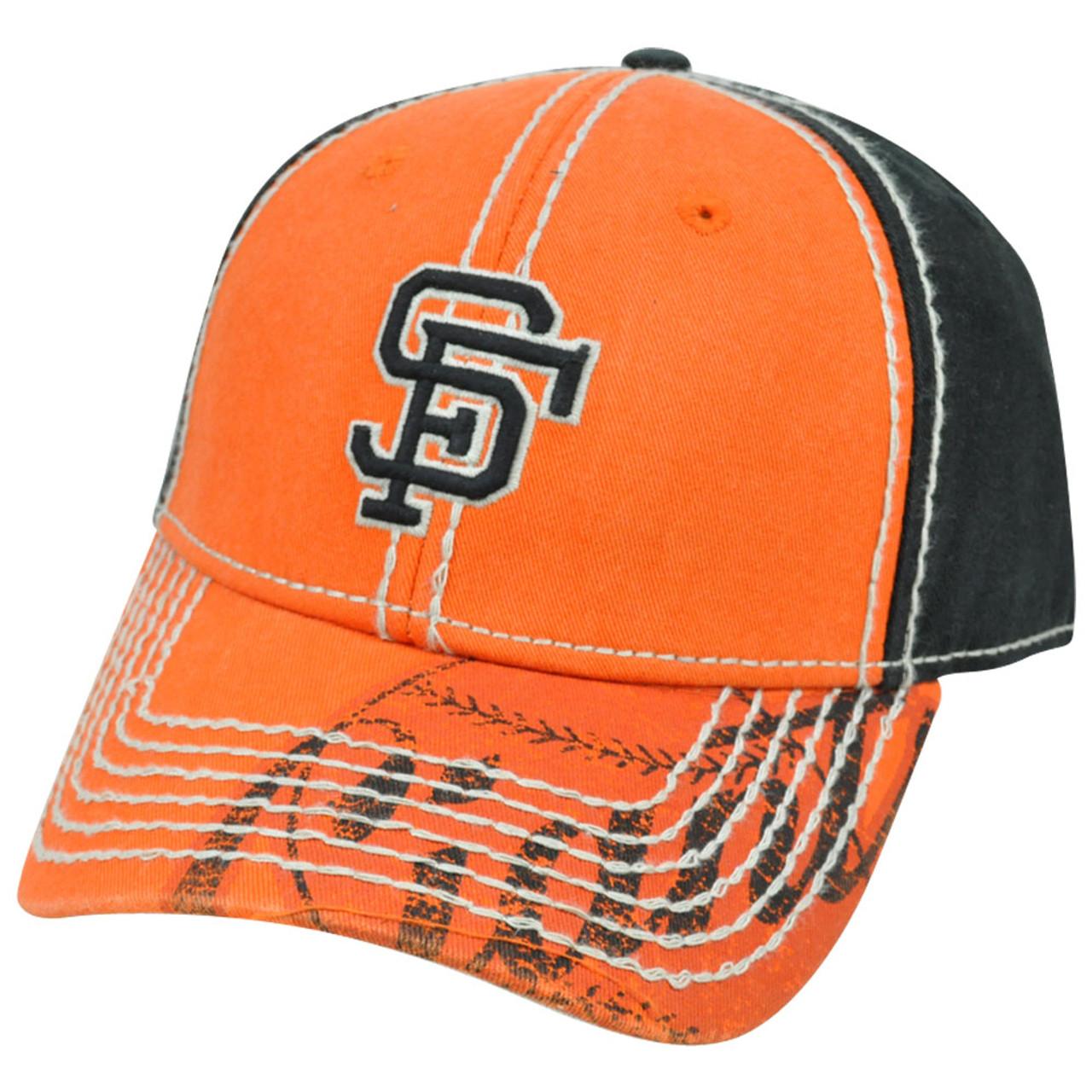 6b60d3740e6 MLB San Francisco Giants Pro Stitch American Needle Vintage Wash Cotton Hat  Cap - Cap Store Online.com