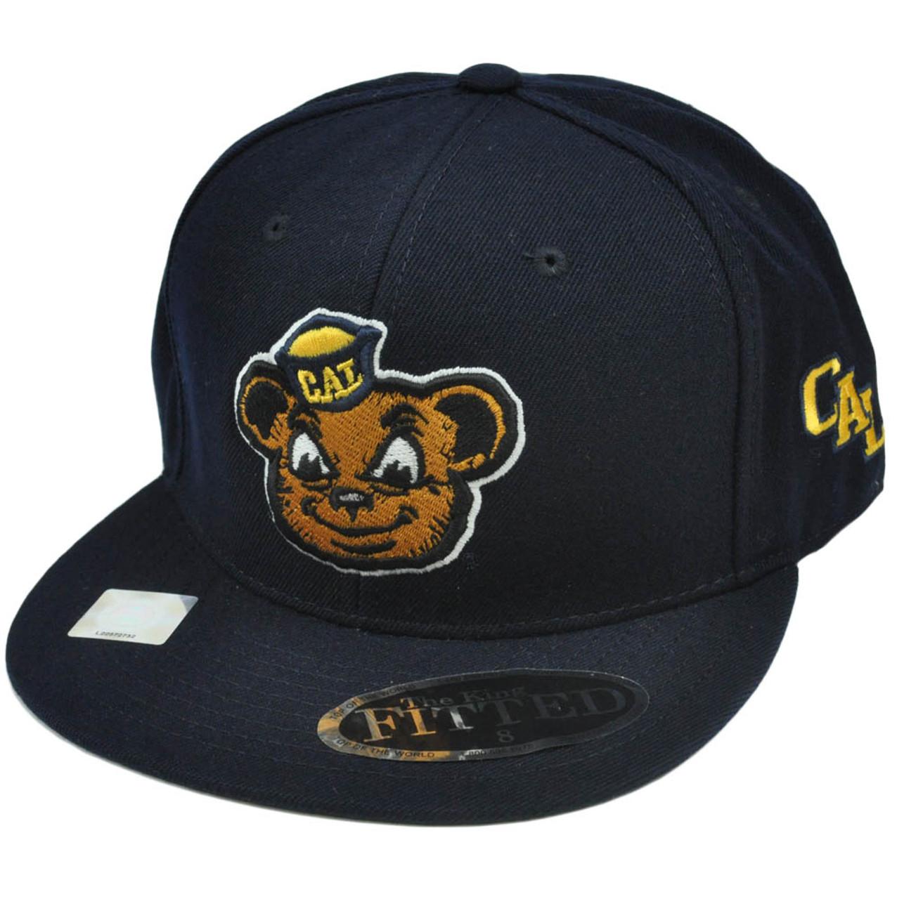 d5de9097c1 NCAA California Golden Bears Top of World Licensed Hat Cap Flat Bill Fitted  8